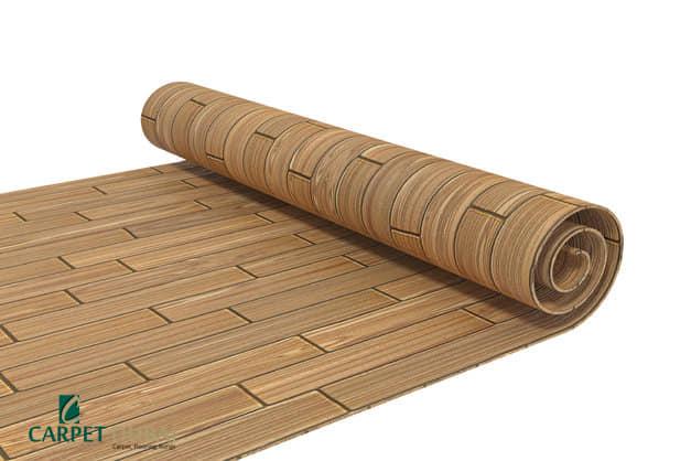 Linoleum Wooden Flooring